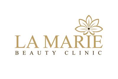 Logo ontwerp voor La Marie Beauty
