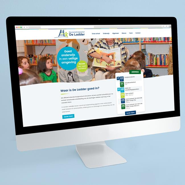 Wordpress onderhoud voor Basisschool de Ladder