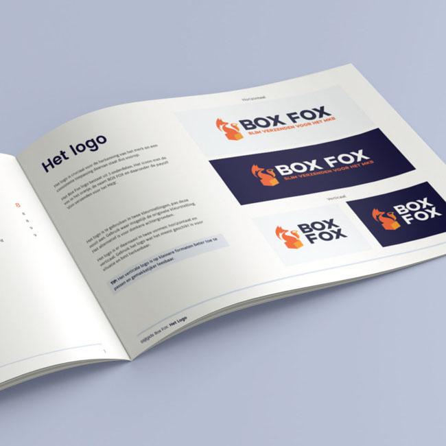 Huisstijl gids voor Box Fox